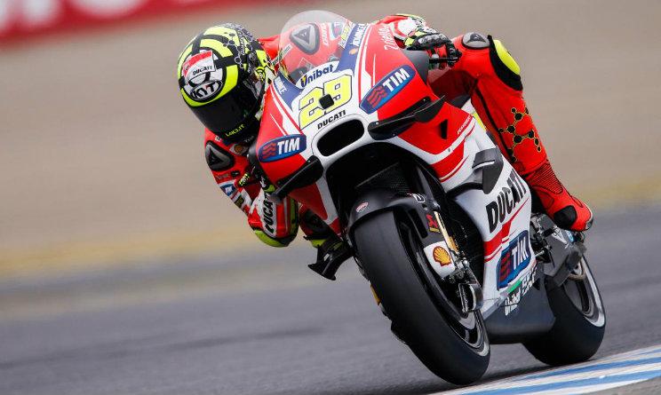 MotoGp, prima fila italiana: Iannone, Rossi e Dovizioso