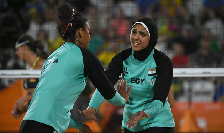Germania-Egitto tra bikini e hijab