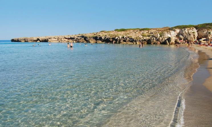 Sicilia, spiaggia Calamosche