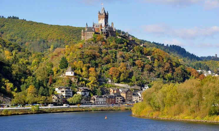 Vigneti in Germania a Castello Cochem