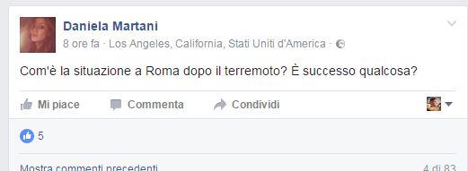 Daniela Martani Terremoto