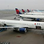 Disagi voli sospesi Delta Airlines