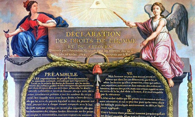 26 agosto 1789 nasce la Dichiarazione diritti uomo