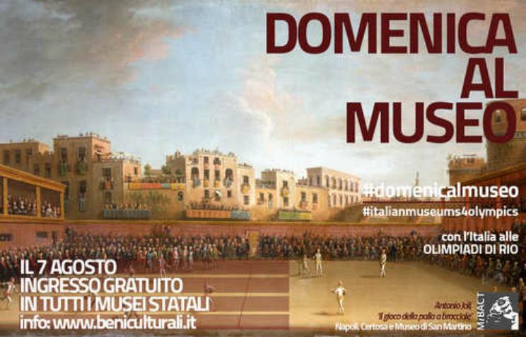 musei gratis torino milano roma prima domenica del mese