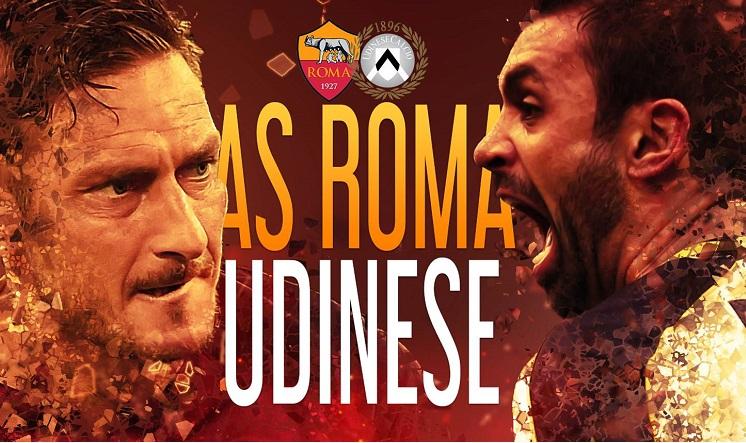 Roma Udinese highlights