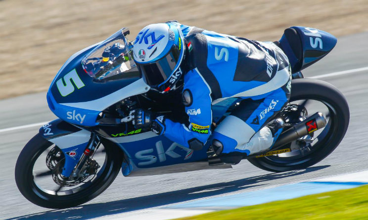 Moto 3 Fenati Sky Racing Team VR46