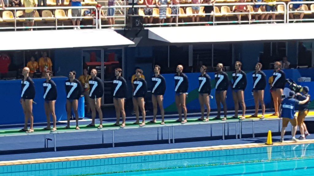 Settebello Olimpiadi Rio 2016 semifinale
