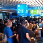 allarme bomba aeroporto francoforte