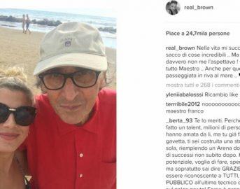 Emma Marrone Instagram: selfie con Franco Battiato manda in delirio i fan