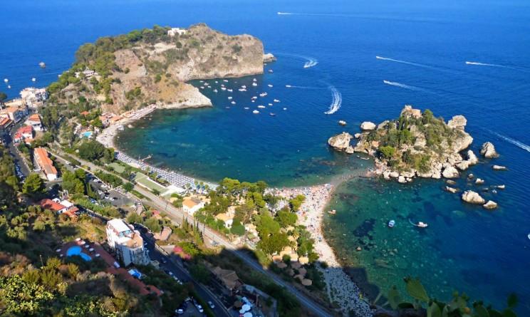 Sicilia Spiaggia Isola Bella
