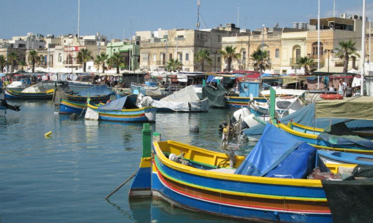 Villaggio Marsaxlokk Malta idea vacanza