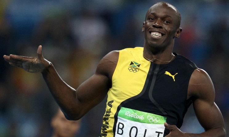 Usain Bolt 4x100 metri