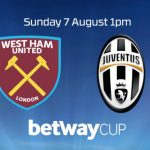 West Ham Juventus formazioni