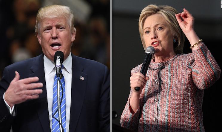 dibattito trump vs hillary