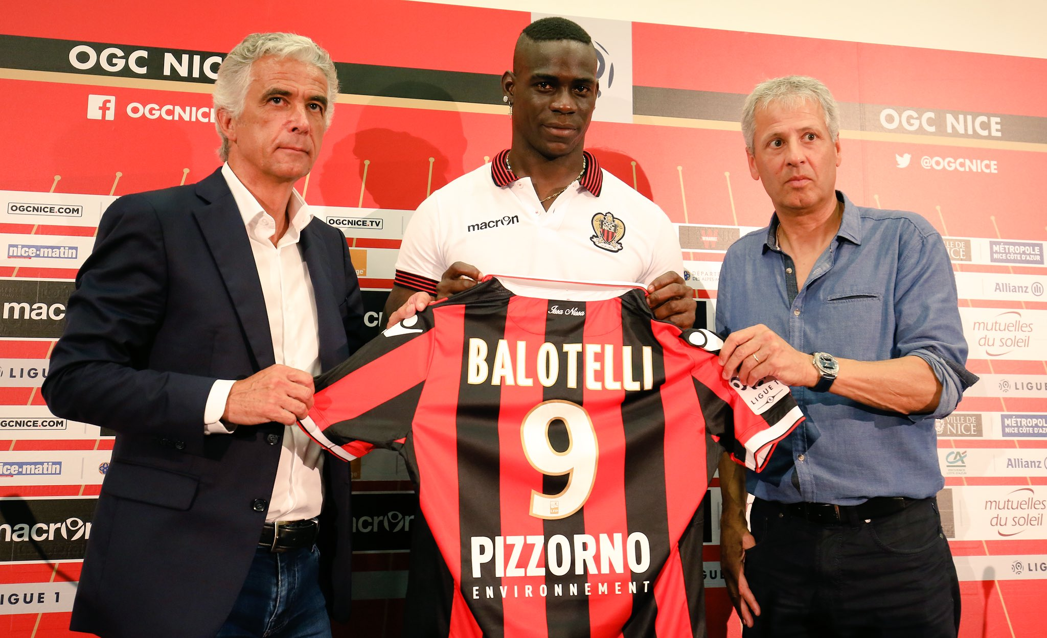 Balotelli Nizza Carragher
