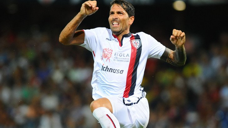Borriello Cagliari-Atalanta highlights