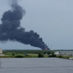 cape canaveral esplosione