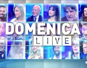 Domenica Live ospiti oggi: Nancy Coppola, Malena, Alberico Lemme, Nina Moric e Luigi Mario Favoloso