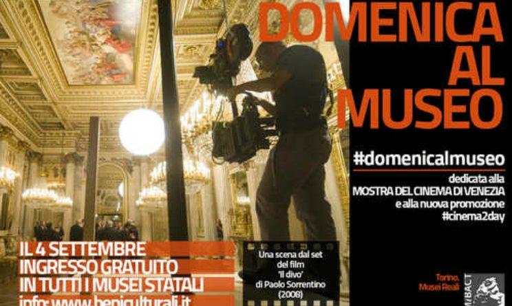 Domenica musei statali gratuiti in occasione della Mostra del Cinema di Venezia
