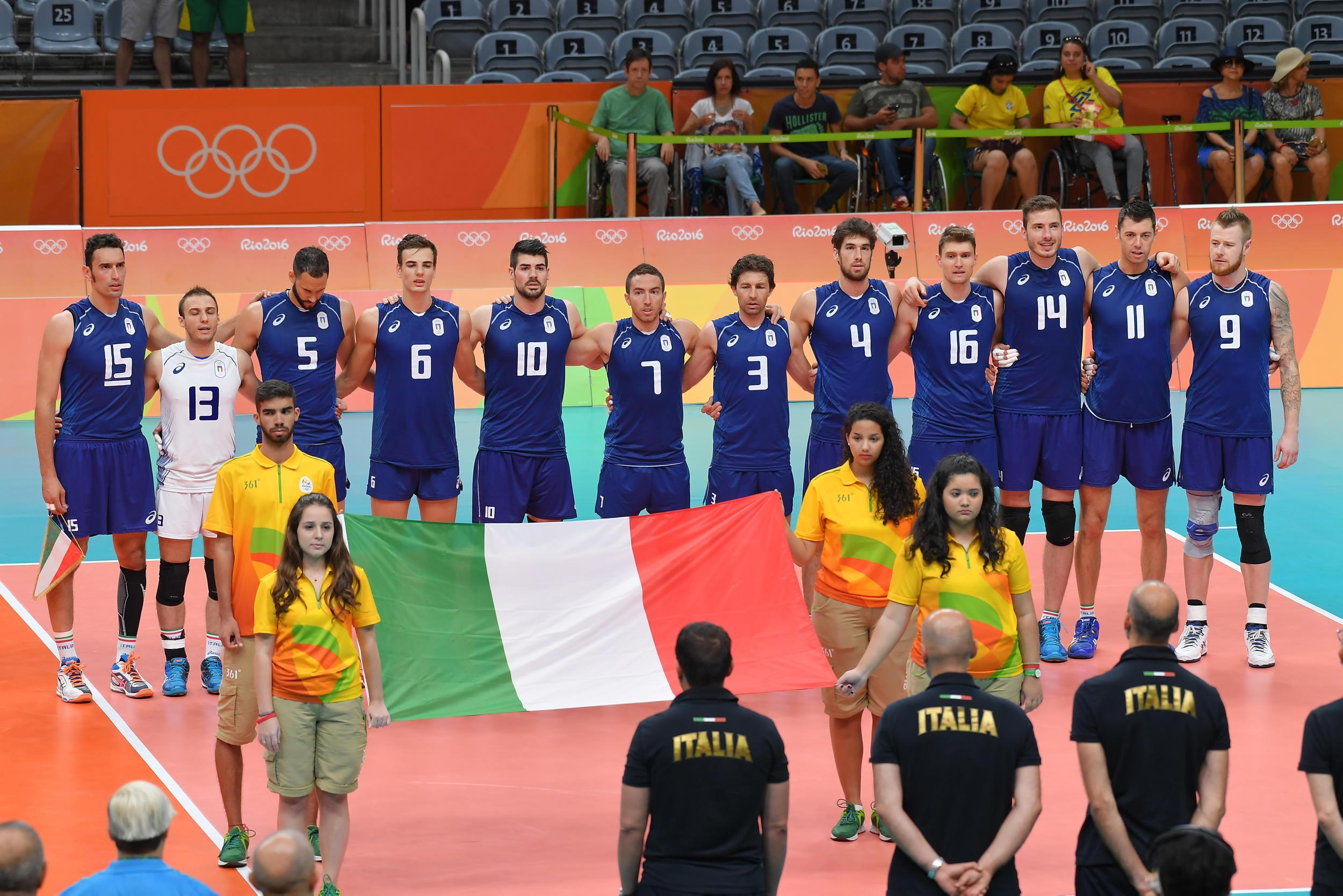 Italia pallavolo Rio 2016