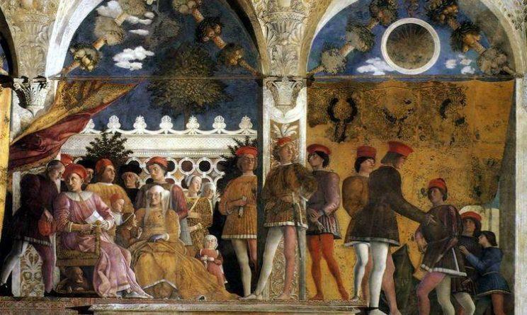 mistero nel quadro di mantegna dipinti sintomi scoperti