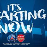 PSG Arsenal probabili formazioni