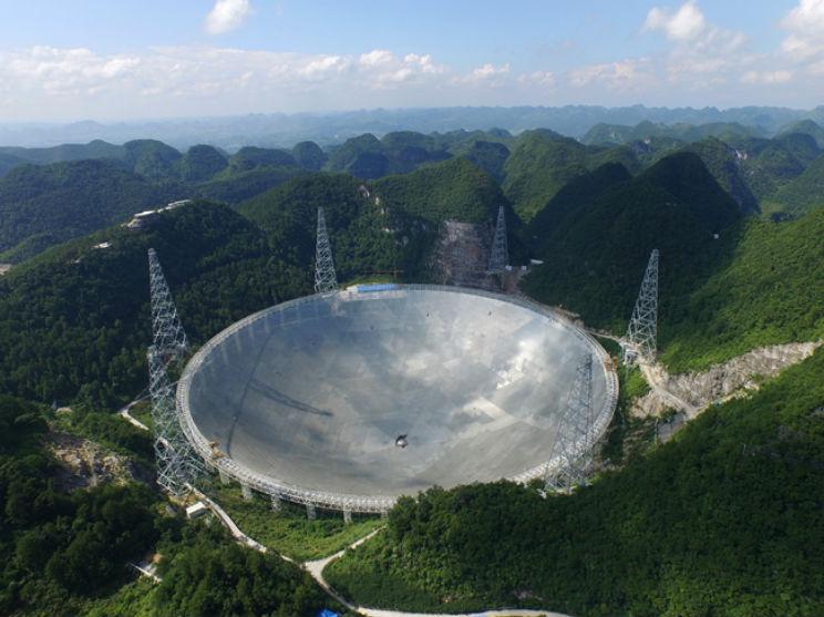 radiotelescopio cina FAST