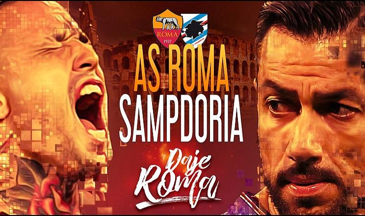 Roma Sampdoria probabili formazioni