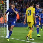 Slimani Leicester City-Porto highlights