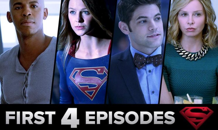 Supergirl in The CW facebook
