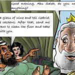Vignetta Islam Giordania