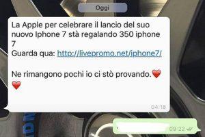 Whatsapp truffa chat
