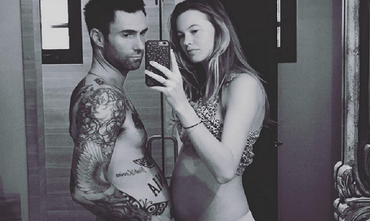 Adam Levine e Behati Prinsloo: nata la figlia Dusty Rose
