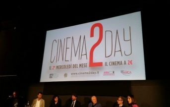 Film a 2 euro al cinema: il Cinema2Day a Milano, Roma, Torino, Firenze