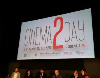 Film a 2 euro al cinema: il Cinema2Day a Milano, Roma, Torino, Firenze