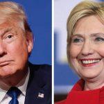 Usa 2016, Donald Trump, Hillary Clinton,