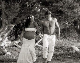 Federica Nargi e Alessandro Matri foto: dopo la gravidanza, la famiglia al completo