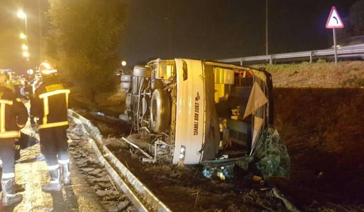 Spagna: 22 feriti in incidente bus turisti a Barcellona