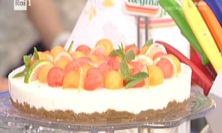 Ricette dolci la prova del cuoco bavarese yogurt e lime for Dolci romani