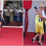 mostra del cinema di venezia 2016, venezia 73, venezia 73 look, venezia 73 abiti strani, venezia 73 outfit brutti,