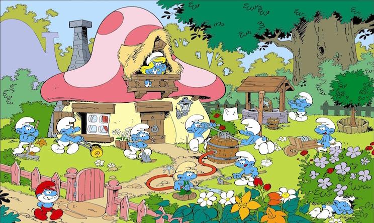 I puffi il cartone animato compie anni urbanpost