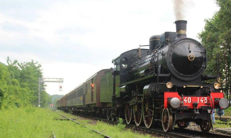 Eventi in treno storico da Milano