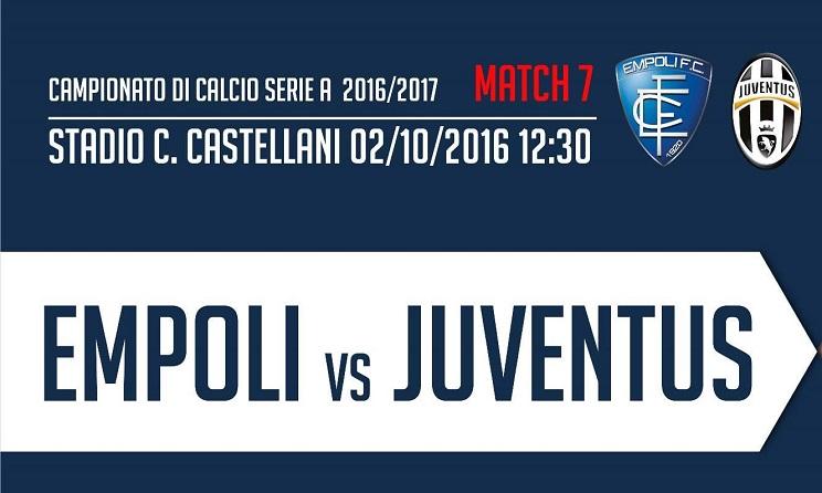 Empoli Juventus Serie A