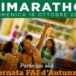 FAI Marathon 2016 itinerari da Milano a Roma