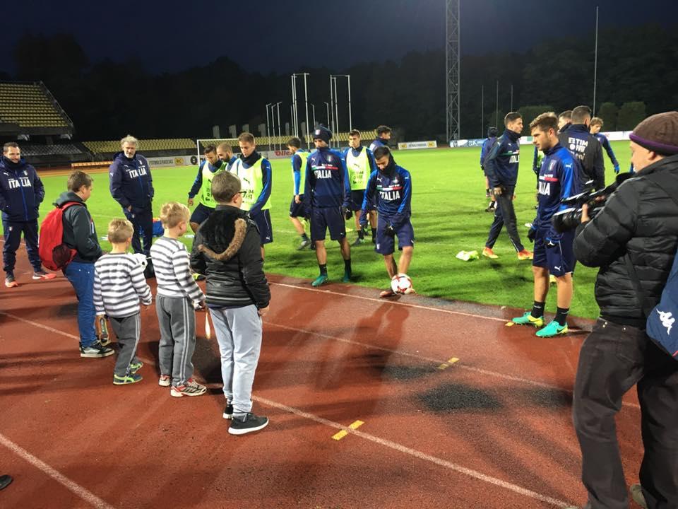 Lituania-Italia Under 21 Hope For Football