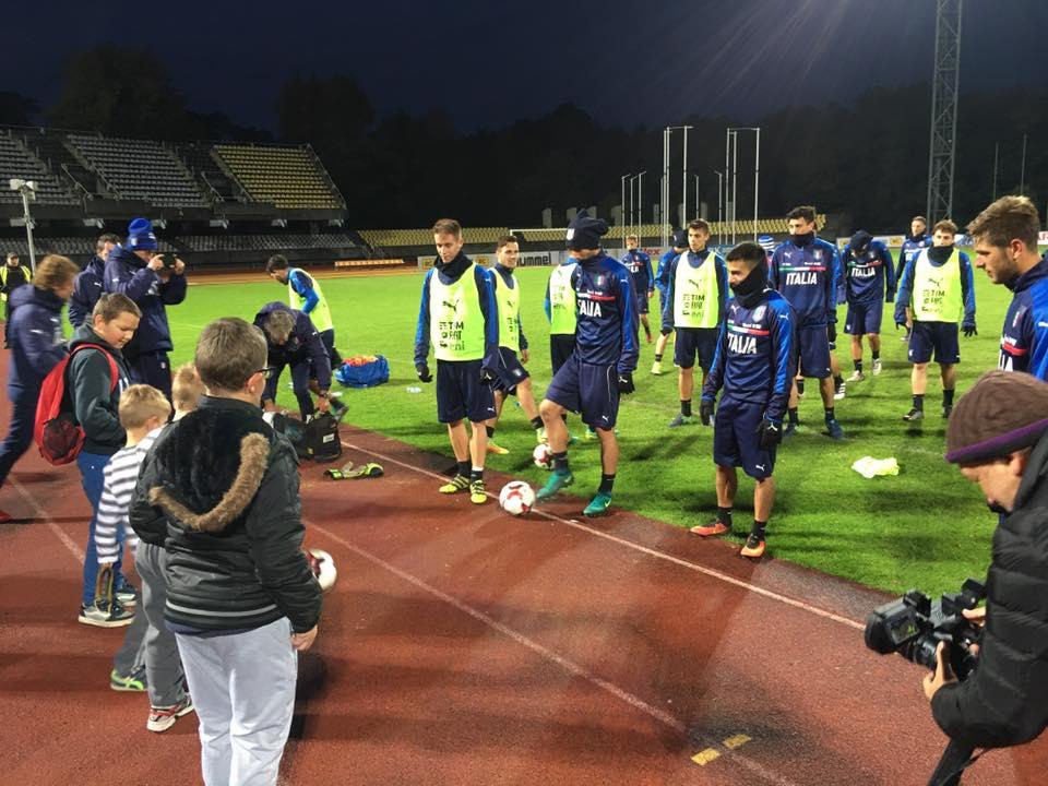 Hope For Football Lituania-Italia