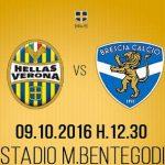 Dove vedere Hellas Verona Brescia