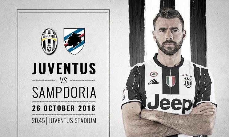 Dove vedere Juventus Sampdoria