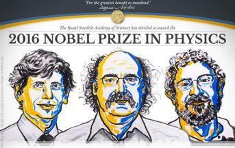 Nobel per la Fisica 2016: il premio a Thouless, Haldane e Kosterlitz per le fasi topologiche della materia