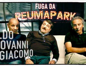 Aldo Giovanni e Giacomo Film, il trio comico torna con Fuga da Reuma Park: cast, trama e uscita